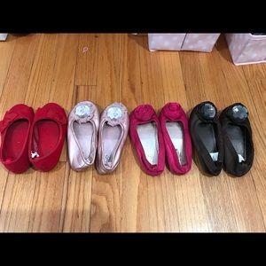 Bundle of BabyGap dress shoes/flats 9t